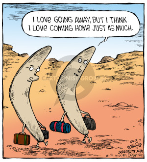 Comic Strip Dave Coverly  Speed Bump 2017-08-12 vacation