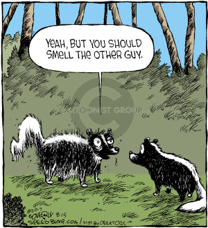 Comic Strip Dave Coverly  Speed Bump 2017-08-15 skunk