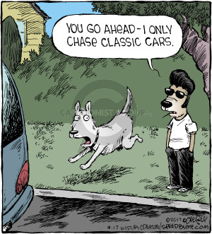 You go ahead - I only chase classic cars.