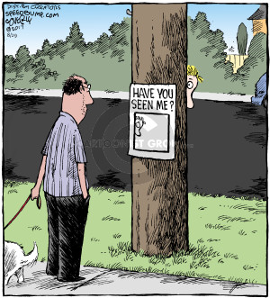 Cartoonist Dave Coverly  Speed Bump 2017-08-29 miss