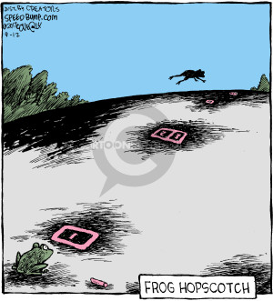 Comic Strip Dave Coverly  Speed Bump 2017-09-12 frog