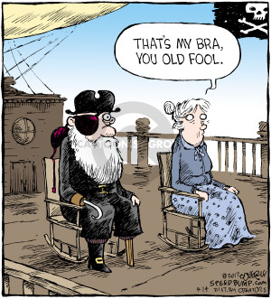 Cartoonist Dave Coverly  Speed Bump 2017-09-14 pirate