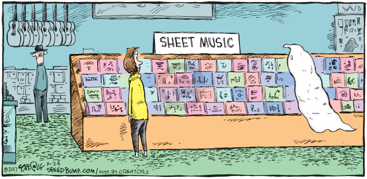 Comic Strip Dave Coverly  Speed Bump 2017-09-24 composition