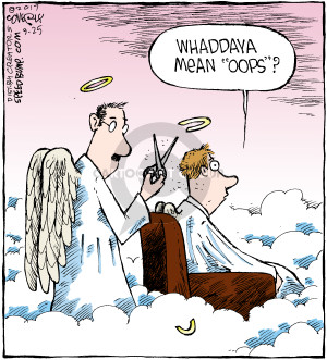Comic Strip Dave Coverly  Speed Bump 2017-09-25 heaven