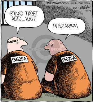 Cartoonist Dave Coverly  Speed Bump 2017-10-19 criminal