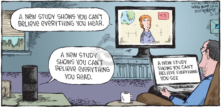 Comic Strip Dave Coverly  Speed Bump 2017-10-22 belief