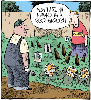 Comic Strip Dave Coverly  Speed Bump 2017-10-27 beer