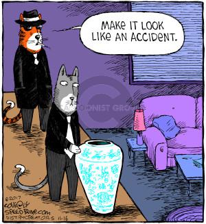 Comic Strip Dave Coverly  Speed Bump 2017-11-16 cat
