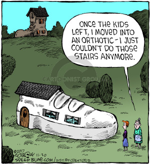 Comic Strip Dave Coverly  Speed Bump 2017-11-30 mother