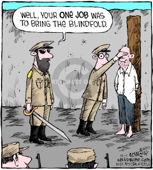 Comic Strip Dave Coverly  Speed Bump 2017-12-01 execution