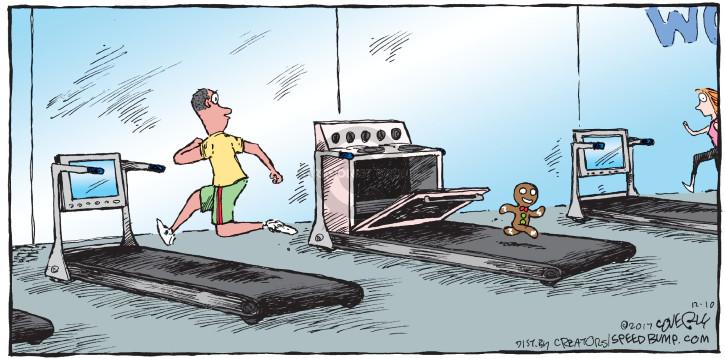 Cartoonist Dave Coverly  Speed Bump 2017-12-10 bake