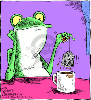 Comic Strip Dave Coverly  Speed Bump 2017-12-23 frog