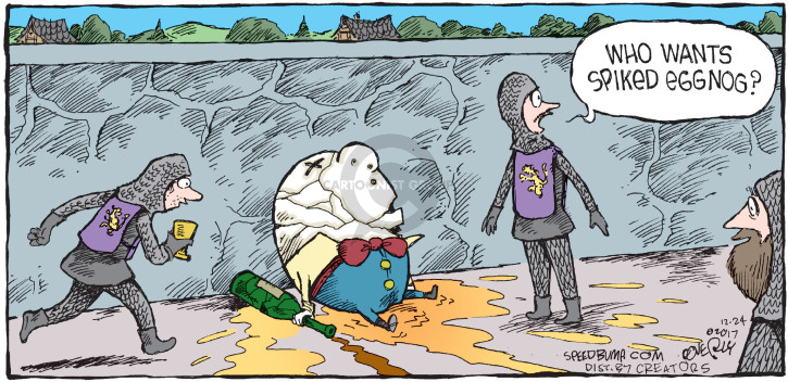 Comic Strip Dave Coverly  Speed Bump 2017-12-24 nursery rhyme