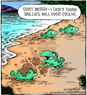 Comic Strip Dave Coverly  Speed Bump 2018-01-04 evolution