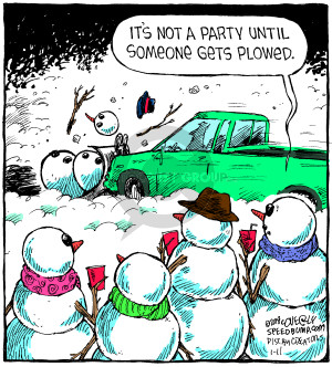 Comic Strip Dave Coverly  Speed Bump 2018-01-11 party