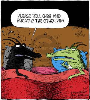 Cartoonist Dave Coverly  Speed Bump 2018-01-27 fire breathing