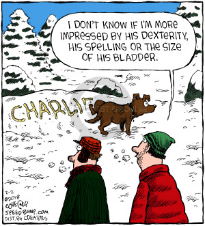 Comic Strip Dave Coverly  Speed Bump 2018-02-02 name
