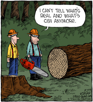Comic Strip Dave Coverly  Speed Bump 2018-02-03 anymore