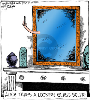 Comic Strip Dave Coverly  Speed Bump 2018-02-10 glass