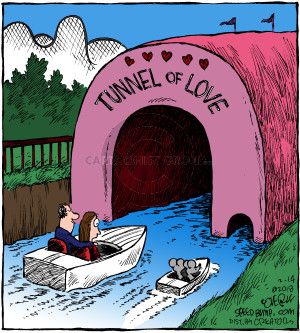Comic Strip Dave Coverly  Speed Bump 2018-02-14 tunnel