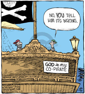 Cartoonist Dave Coverly  Speed Bump 2018-02-21 pirate