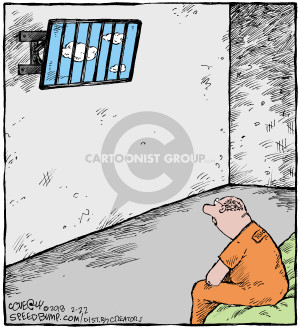 Comic Strip Dave Coverly  Speed Bump 2018-02-22 prison