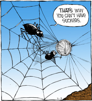 Cartoonist Dave Coverly  Speed Bump 2018-03-02 stick
