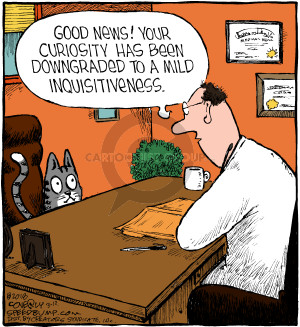 Comic Strip Dave Coverly  Speed Bump 2018-03-12 originally