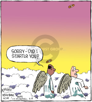 Comic Strip Dave Coverly  Speed Bump 2018-03-19 heaven
