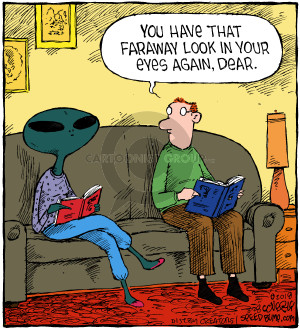 Comic Strip Dave Coverly  Speed Bump 2018-03-28 extraterrestrial