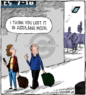 Comic Strip Dave Coverly  Speed Bump 2018-03-30 airplane travel