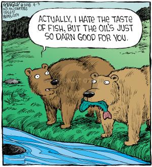 Comic Strip Dave Coverly  Speed Bump 2018-04-03 bear