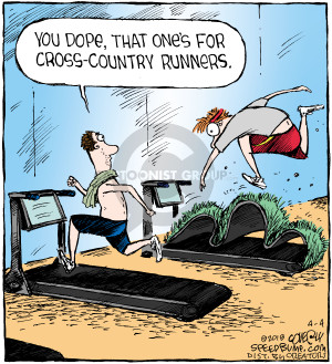 Comic Strip Dave Coverly  Speed Bump 2018-04-04 exercise