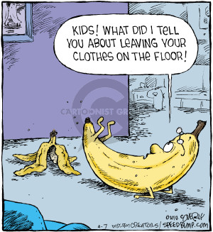 Cartoonist Dave Coverly  Speed Bump 2018-04-07 clothing