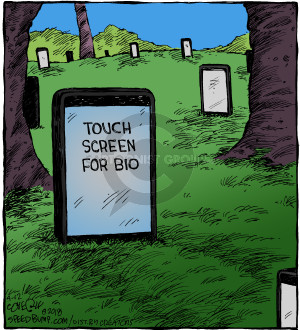 Comic Strip Dave Coverly  Speed Bump 2018-04-12 electronics