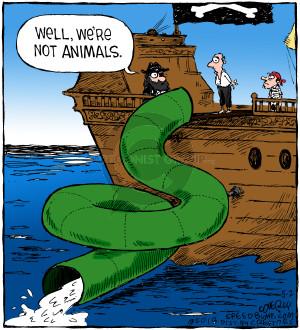 Comic Strip Dave Coverly  Speed Bump 2018-05-02 ship