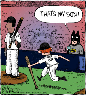 Comic Strip Dave Coverly  Speed Bump 2018-05-04 baseball bat