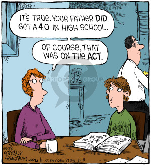 Comic Strip Dave Coverly  Speed Bump 2018-05-18 father