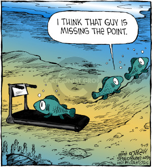 Comic Strip Dave Coverly  Speed Bump 2018-05-19 exercise