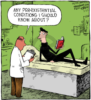 Cartoonist Dave Coverly  Speed Bump 2018-05-23 physician