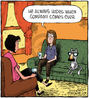 Comic Strip Dave Coverly  Speed Bump 2018-05-24 hide