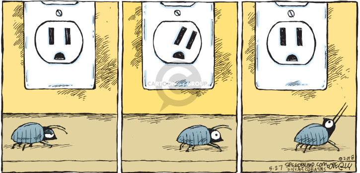 Cartoonist Dave Coverly  Speed Bump 2018-05-27 make