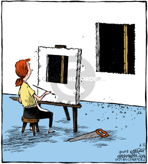 Comic Strip Dave Coverly  Speed Bump 2018-06-02 painter