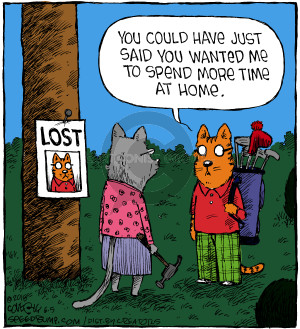 Comic Strip Dave Coverly  Speed Bump 2018-06-05 Lost