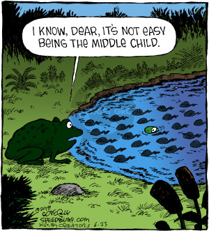 Cartoonist Dave Coverly  Speed Bump 2018-06-23 family