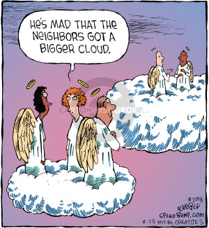 Comic Strip Dave Coverly  Speed Bump 2018-06-25 heaven