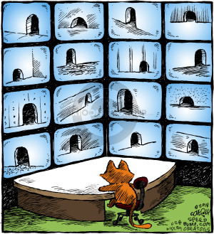 Comic Strip Dave Coverly  Speed Bump 2018-06-28 caption