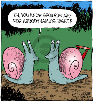 Comic Strip Dave Coverly  Speed Bump 2018-07-06 snail