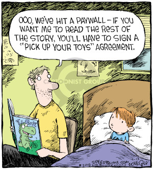 Comic Strip Dave Coverly  Speed Bump 2018-07-13 agreement