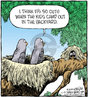 Comic Strip Dave Coverly  Speed Bump 2018-07-14 tree